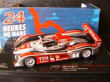AUDI R10 TDI POWER #1 24 HEURES DU MANS 2008 BIELA PIRRO WERNER IXO LMM146 1/43