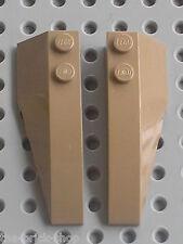 Ailes LEGO Star Wars DkTan wedges ref 41747 & 41748 / set 7929 66396 6869