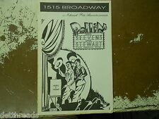 VINTAGE PROGRAM - 1946 - Vaudeville - Rollin' with Stevens and Stewart