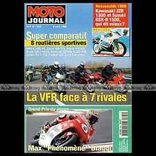 MOTO JOURNAL N°1322 HONDA CX 650 TURBO VFR 800 BMW K 1200 RS DUCATI 944 ST2 1998