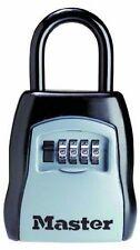 Mini Coffre Fort + Anse Cadenassable,4 Chiffres Recodable,de marque MASTER LOCK