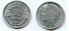 50 Centimes MORLON  Aluminium 1947 BEAUMONT  TTB