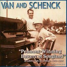 VAN & SCHENCK - Pennant-Winning Battery of Songland -CD-NEW