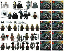 NEW LEGO Lord of the Rings LOTR HUGE ORC/URUK-HAI MINIFIGURES White Hand/Polybag
