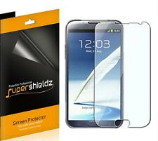 3 Clear Screen Protector For Samsung Galaxy Note 2  T-Mobile Verizon Sprint AT&T