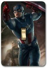 Marvel Captain America Metal Switch plate Wall Cover Lighting Fixture SP719