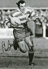 PHIL BENNETT In Person Signed 12x8 Photo WALES RUGBY UNION LEGEND Proof   COA