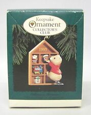 "1995 "" Collecting Memories "" Hallmark Collector's Club Keepsake Ornament"