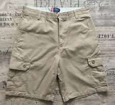 Chaps Gents Beige Cargo Shorts Size 34 100% Cotton