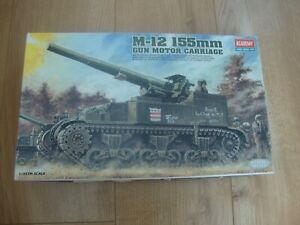 L215 Academy Model Kit 1394 - M-12 155mm Gun Motor Carriage - 1/35