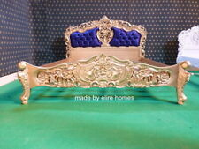 BESPOKE  Sophisticated Gold with any fabric french furniture Rococo baroque bed