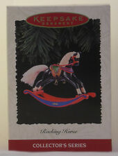 """Hallmark """"Rocking Horse"""" Collector'S Series Dated 1996 - Final in the Series"""