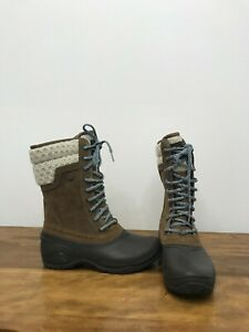 Women's The North Face Shellista II Boots Size 7.