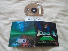 PS1 Sony Playstation Demo One - (WITH CASE) - SCES-00048 -Loaded, Wipeout + more
