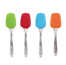 Nuevo 2x calidad fácil de limpiar Silicona Espátulas Cocinar Hornear ideal para mezclar