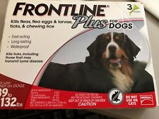 Frontline Plus Flea and Tick Treatment for Large Dogs 3 Doses