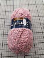 King Cole 1264 rose pink Authentic cotton blend DK double knit yarn 100g ball