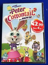 NEW SEALED Peter Cottontail - The Movie (DVD, 2013) (U)