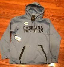 Nike Carolina UNC Tar Heels Champ Drive Vapor Speed Hoodie Large NWT $125 Blue