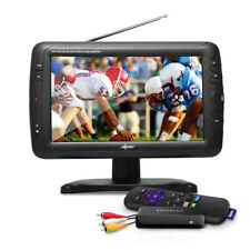 """Axess 9"""" LCD TV with Roku & Built-in Speakers TV1703-9 (Like Smart TV)"""