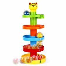 Peradix Swirl Ball Rolling Drop Toy Toddlers Educational Puzzle Cat BB130635