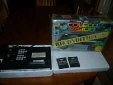 ColecoVision Game System Console in Original Box + DK and Zaxxon, Works!