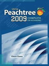 Using Peachtree Complete 2009 for Accounting (with Data File and Accounting