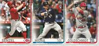 2019 Topps Update Series Baseball Cards Base Team Set U You Pick List