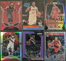 Lot of (6) Evan Turner, Including Rated Rookie, Red Mirror & Prizm parallels