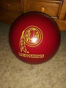 Vintage Brunswick 12 Lb Washington Redskins Bowling Ball