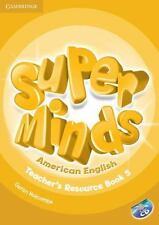 Super Minds American English Level 5 Teacher's Resource Book with Audio CD (Mixe