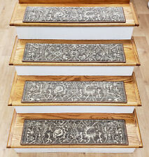 Bon Traditional Persian/Oriental Polypropylene Stair Treads For ...
