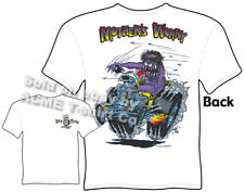 Mothers Worry Rat Fink T Shirt Ed Big Daddy Roth Clothing Ford Hot Rod T Shirts