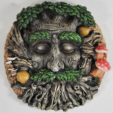 Tree Ent Face Wall Plaque Fantasy Garden Outdoor Sculpture Magic Myth 39691