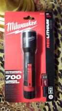Milwaukee 700-Lumen LED Rechargeable Aluminum Flashlight Model: 2110-21 - New