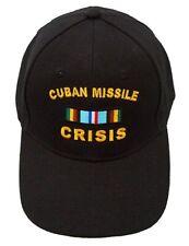 Cuban Missile Crisis Ribbon Cap Black