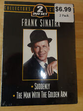 Frank Sinatra - 2 Pack: Suddenly/The Man With The Golden Arm (DVD, 2003, 2-Disc
