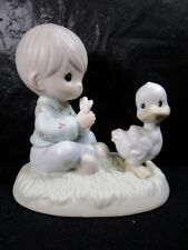 """Precious Moments """" Friends To The Very End """" Figurine Retired"""