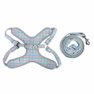 Small Dog Puppy Pet Harness Leash Pet Breathable Mesh Vest Chest Strap Rope Set