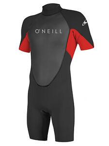 O'Neill Reactor Mens Shorty 2mm Neoprene Spring Wetsuit