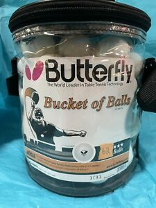 Butterfly 40mm Bag of 62 Table Tennis Balls SEE DESCRIPTION