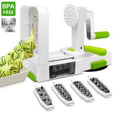 Vegetable Spiral Slicer, ANKO 100% Stainless-Steel Blades BPA FREE Spiral Slicer