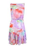 Lauren by Ralph Lauren Women's Floral Flare Georgette Dress