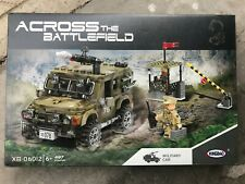 XINGBAO 06012 497Pcs Military Series The Ryan Car Set Building Blocks Kids Toys