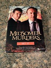 Midsomer Murders: Boxed Set 21 (DVD, 2012, 4-Disc Set)