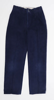 Next Boys Blue Trousers Age 9-10 Years