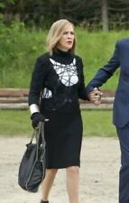 Alexander McQueen McQ Black Web Knit Cut-Out Sweater Dress IT 44 L Moira