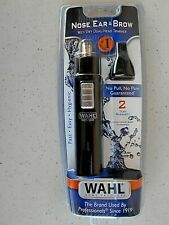 Wahl Ear, Nose & Brow Dual Head Trimmer Wet/Dry Battery Operated 5567-200 NEW