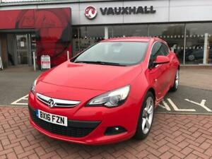 2016 Vauxhall Astra GTC SRi 1.6T 200PS S/S Coupe Hatchback Petrol Manual