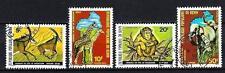 Bénin 1979 Faune sauvage (143) Yvert n° 457 à 460 oblitéré used